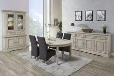 KLANT - Belle salle à manger dans un style campagnard. Découvrez-la maintenant en magasin | Meubles Toff