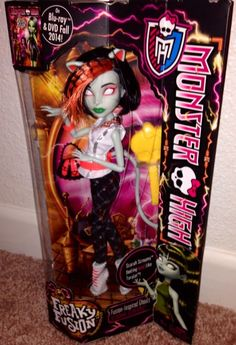 Monster High Freakie Fusion Scarah Screams NEW Just Released IN HAND