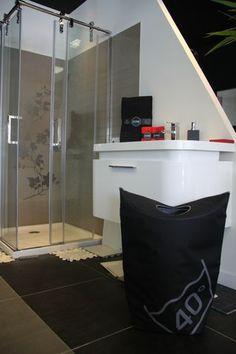 Distributeur de savon liquide cube lavande mat