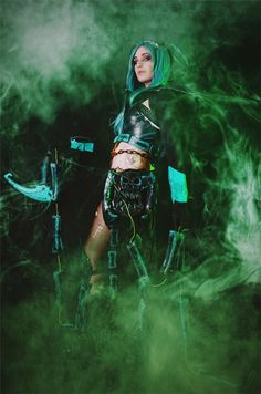 Thresh - Daniela(Aurin) Thresh Cosplay Photo Cosplay Costumes For Sale, Game Costumes, Costume Wigs, Wigs For Sale, League Of Legends, Wonder Woman, Lol, Superhero, Fictional Characters