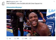 The funniest memes and reactions to Mayweather v. McGregor – 18 Pics