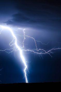 Lightning Ground Storm // By Brandon Morgan
