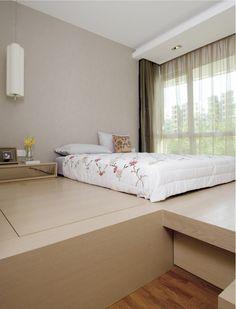cool platform bed! want it!