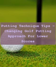 5 Great Putting Tips to Improve Your Golf Score. By using an effective putting drill you can market to a specific area of your putting performance you... Golf Score, Golf Putting Tips, Putt Putt, Golf Ball, Drill, Improve Yourself, Learning, Hole Punch, Miniature Golf