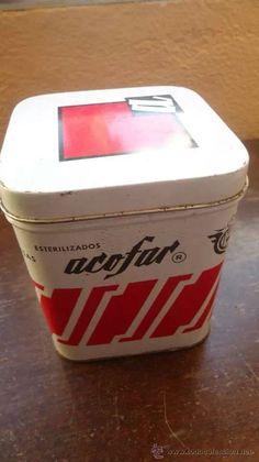 Aún la tengo en mi botiquín  Las latas de gasas