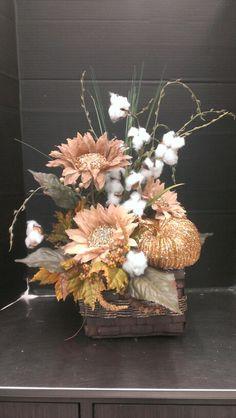 Fall Cotton Basket...Robin Evans