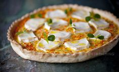 Bresc Garlic puree – pumpkin – tarragon – yoghurt – goat cheese
