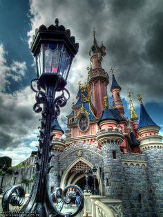 #Disneyland Paris. The Sleeping Beauty Castle #DLRP #DLP #Disney 'Le Château de la Belle au Bois Dormant'