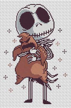 Fall Cross Stitch, Geek Cross Stitch, Disney Cross Stitch Patterns, Cross Stitch Designs, Cross Stitching, Cross Stitch Embroidery, Modele Pixel Art, Pixel Pattern, Halloween Cross Stitches