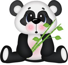Surprised Panda Bear by - Minus