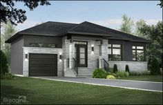 See related links to what you are looking for. Modern Bungalow House, Modern House Design, Exterior House Colors, Exterior Design, Bungalow Exterior, House Front, My House, House Siding, Exterior Remodel