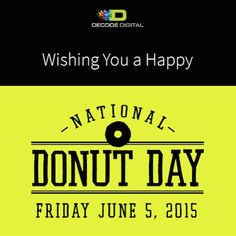 We're celebrating National Donut Day with some @shipleydonuts! What's the Houston donut eating record? Whatever it is, there will be a new donut sheriff in town!#NationalDonutDay #Houston | Decode Digital Marketing
