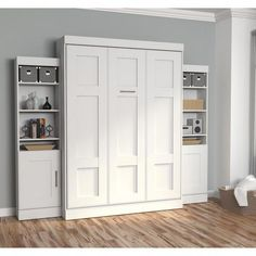 "Figure out more relevant information on ""murphy bed ideas ikea queen size"". Look at our site. Queen Murphy Bed, Murphy Bed Plans, Bed Storage, Tall Cabinet Storage, Storage Units, Bed Cabinet, Bedroom Storage, Home Design, Studio Design"