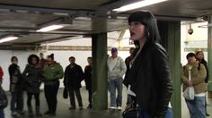 """Boombox Series // Jessie J by Arcade44.tv. It would have been just another ordinary day on the NYC rapid transit system, but Jessie J is not your ordinary artist. On a typically busy midday afternoon in New York City's Times Square, the divine Ms J found herself a bustling corner with decent acoustics, set up a boombox, and ripped into a rousing rendition of her track """"Who You Are"""" for a few lucky commuters."""