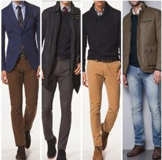 I like all of these. Especially the shoes/pants fit.