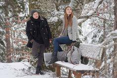 Im Schnee mit Loden. Coat, Jackets, Fashion, Snow, Down Jackets, Moda, Sewing Coat, La Mode, Coats