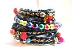 Bracelets à base de jeans