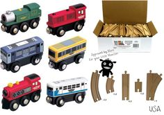 Small World: see - repeat - discover We LOVE train tracks for our little monsters! Your little monster can build (problem solve) a new route every time they get the box of train tracks out, create different sized trains to go on different jobs and adventures- there's just NO limit to what your little monster can explore and create!