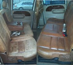 how to clean and condition ford king ranch leather auto geek online auto detailing forum. Black Bedroom Furniture Sets. Home Design Ideas
