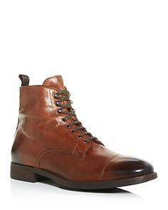 To Boot New York Men's Richmond Leather Cap-Toe Boots Men - Bloomingdale's Hype Shoes, Men's Shoes, Shoe Boots, Leather Chukka Boots, Leather Cap, To Boot New York, Double Monk Strap, New York Mens, Boots Online