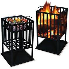 Barbecue brasero carré