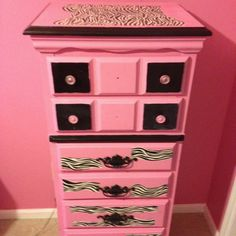 Re-painted dresser
