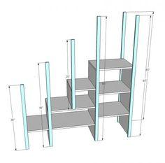 under stair storage design plan
