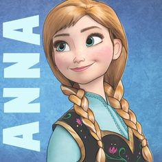 How to Draw Princess Anna from Frozen Step by Step Tutorial « How to Draw Step by Step Drawing Tutorials
