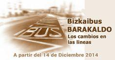 Bizkaibus Barakaldo. Los cambios en las lineas