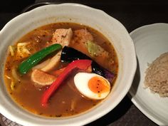 Soup curry or curry
