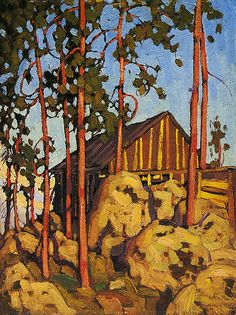 Untitled by Lawren Stewart Harris on Curiator, the world's biggest collaborative art collection. Group Of Seven Artists, Group Of Seven Paintings, Tom Thomson, Emily Carr, Canadian Painters, Canadian Artists, Landscape Art, Landscape Paintings, Landscapes