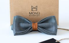 The MOST POPULAR MONEJ bow tie. Tie it on! Be the modern man! | Handmade in Lithuania (Europe)