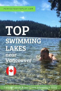 Check out our Collection of swimming Lakes near Vancouver. Perfect summer outdoor adventure with kids, swimming beaches, relaxation, fun family picnic. Best swimming lakes in BC. Best Swimming, Kids Swimming, Travel With Kids, Family Travel, Columbia Outdoor, Vancouver Travel, Vancouver Island, Canadian Travel, Canadian Rockies