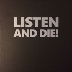 Various Artists - Listen And Die!