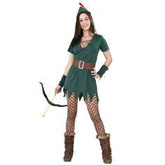 Tu mejor disfraz de robin hood mujer bt 10118 .Éste traje es muy pero que muy Sexy y podría servir también como disfraz de Peter Pan sexy de chica.Ideal para tus fiestas de disfraces o carnaval y para tus representaciones.