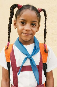 Schoolgirl. Trinidad