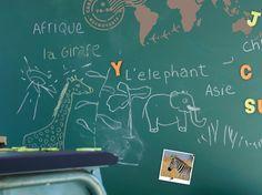On est toujours à la recherche de bonnes idées déco pour la chambre de nos enfants !...