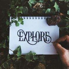 Daily Typography Inspirations™ @thedailytype Let's explore gre...Instagram photo | Websta (Webstagram)