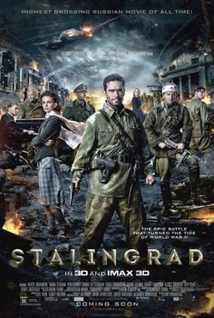 Discover 56 high-resolution movie posters of Stalingrad (Action, Drama, War) on MoviePosterDB. Movies 2019, Hd Movies, Movies And Tv Shows, Movie Tv, 2015 Movies, Watch Movies, Latest Movies, Action Movies, Streaming Vf