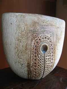 Alan Wallwork; Glazed Ceramic Vessel, 2010s.