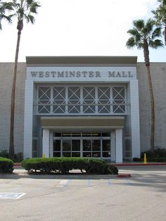 Westminster Mall entrance