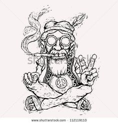 funny weed coloring pages bing images - Hippie Coloring Pages