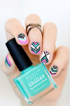 Easy nail art designs for short nails to Copy0041