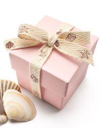 Cotton Ribbon - Sea Shells