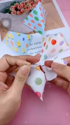Diy Crafts Hacks, Diy Crafts For Gifts, Diy Arts And Crafts, Creative Crafts, Cool Paper Crafts, Paper Crafts Origami, Fun Crafts, Crafts For Kids, Creative Gift Wrapping