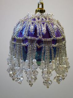 83. Beaded Ornament Cover by BeadingWolves on Etsy