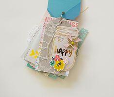 Summer Inspired Mason Jars w/Rebecca Luminarias - Crate Paper