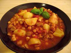 veganes Kichererbsen-Gulasch mit Kartoffeln nach Omas Art - vegane Rezepte auf Laubfresser