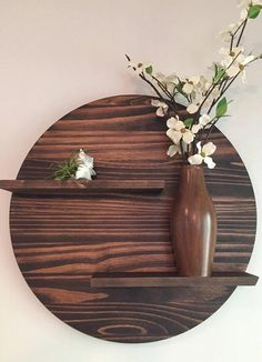Affordable Home Decor Based in Atlanta, Ga. Christiani Modern Wood Designs Offers Hand Made Modern Furniture For The Everyday Home. Affordable Home Decor, Cheap Home Decor, Diy Home Decor, Room Decor, Home Decoration, Casual Home Decor, Wall Shelves Design, Unique Wall Shelves, Diy Home Crafts