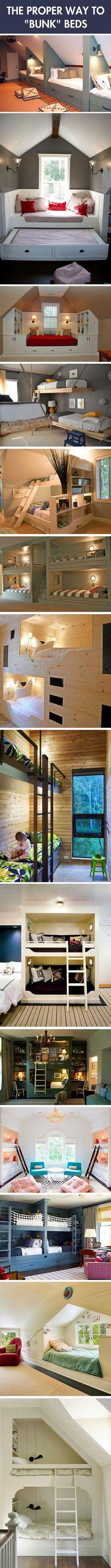 The coolest bunk beds.